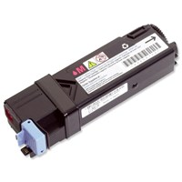 Dell High Capacity Magenta Toner Cartridge (Yield 2,500 Pages)