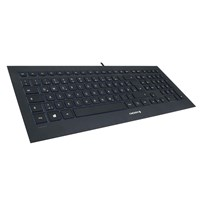 CHERRY STRAIT Black 3.0 JK-0360 Corded USB Keyboard (Black) - UK