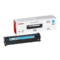 Canon 716 (Yield: 1,500 Pages) Cyan Toner Cartridge