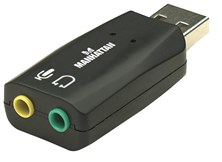 Manhattan Hi-Speed USB 3-D Sound Adapter