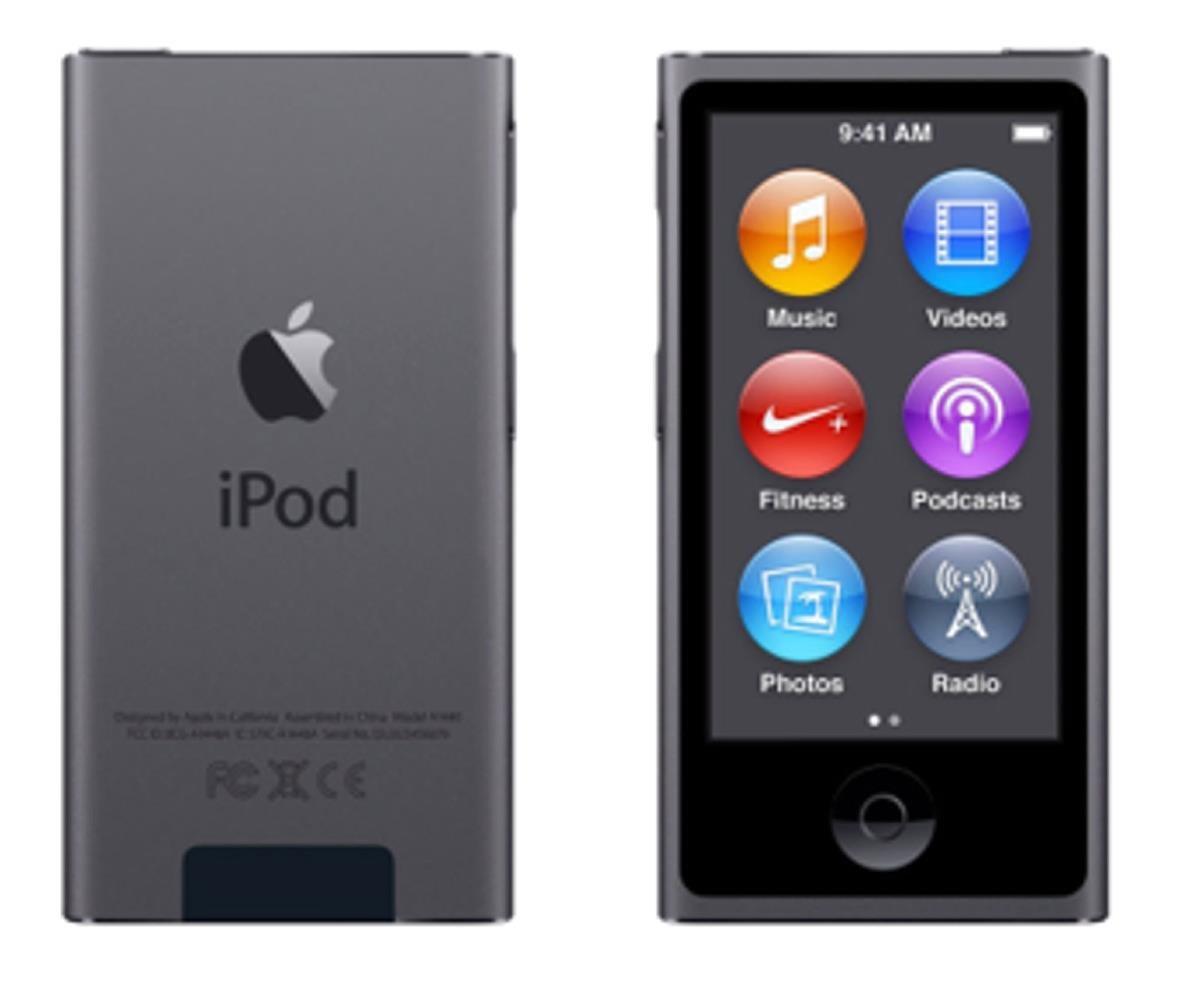 Apple iPod Nano (2.5 inch) Multi-Touch LCD Display 16GB FM-Radio