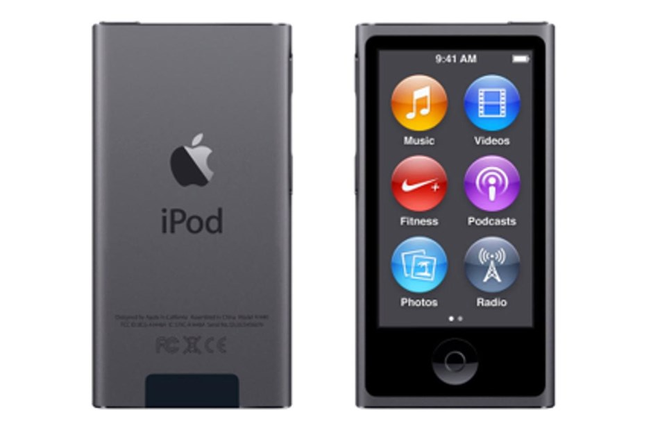 apple ipod nano 2 5 inch multi touch lcd display 16gb fm radio bluetooth space grey. Black Bedroom Furniture Sets. Home Design Ideas