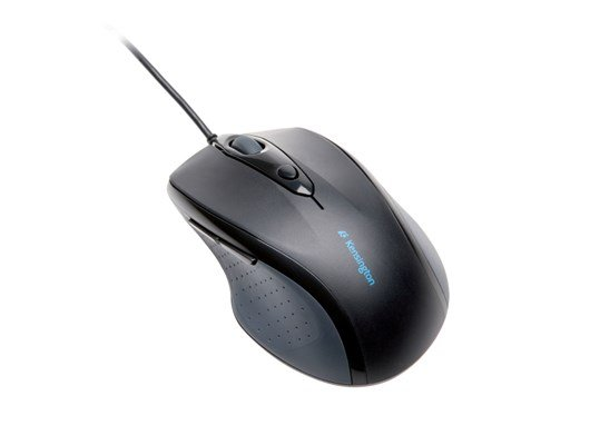 Kensington Pro Fit Full Sized Wired Mouse (Black)