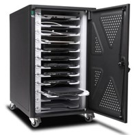 Kensington AC12 Security Charging Cabinet - Universal Device for Chromebook and Tablets