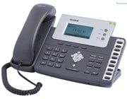 Yealink SIP-T26PN Professional IP Phone LCD Backlit Power Over Ethernet (PoE) TI-Titan VPN (Black)