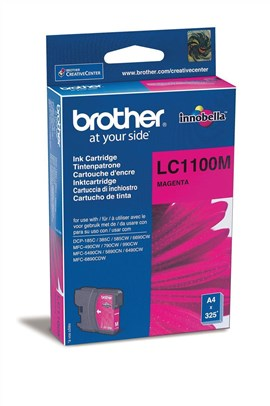 Brother LC1100M Standard Yield Magenta Toner