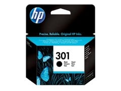 HP 301 Black Ink Cartridge (Yield 190 Pages) for Deskjet 1000/Deskjet 1050A/Deskjet 3000 Printers