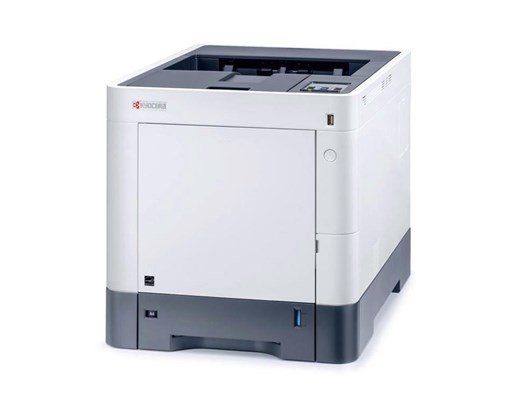Kyocera P6230cdn (A4) Colour Laser Printer 30ppm Warm Up Time 26 Seconds 1GB Standard Memory