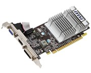MSI GeForce N210-MD512D3H/LP GeForce 210 Graphics Card