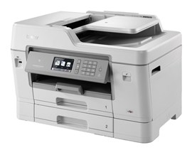 Brother MFC-J6935DW (A3) Colour Inkjet All-in-One Printer (Print/Copy/Scan/Fax) 512MB 9.3cm Colour LCD 22ipm (Mono) 20ipm (Colour) 30000 (MDC)
