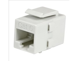 StarTech.com Cat 6 RJ45 Keystone Jack Network Coupler - F/F (White)
