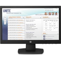 HP V197 18.5 inch LED Monitor - 1366 x 768, 5ms Response, DVI