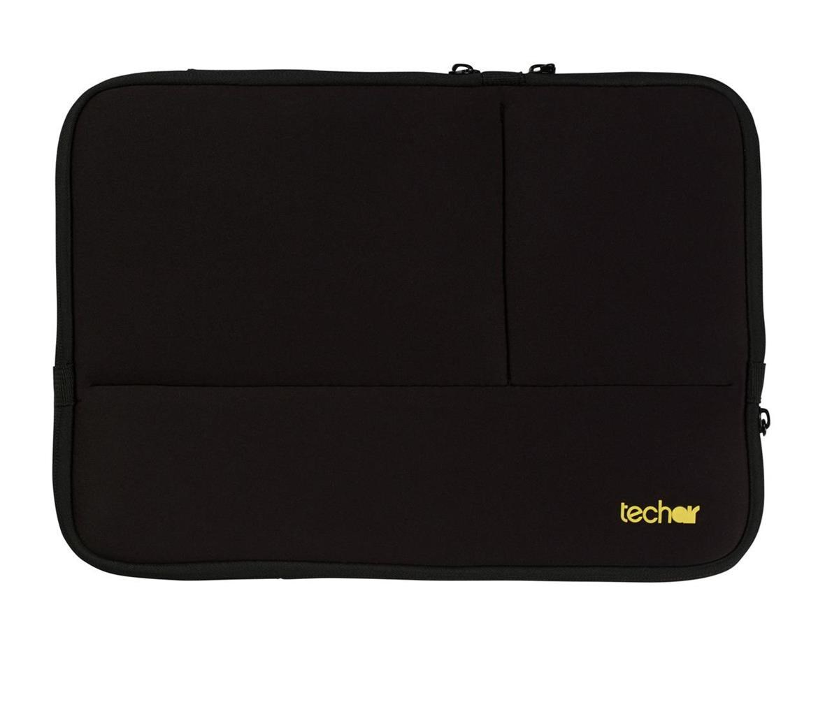 45c604bfac Techair Laptop Sleeve with 3 Zipped Pockets for 15.6 inch Laptops ...