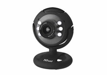 Trust SpotLight Webcam 1.3 Megapixel (Black)