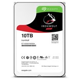 Seagate IronWolf (10TB) 3.5 inch NAS Hard Drive (7200rpm) SATA 6Gb/s 256MB (Internal) - Standard 512E Model