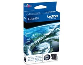 Brother LC985BK (Yield: 300 Pages) Black Ink Cartridge