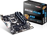 Gigabyte GA-B85M-DS3H S1150 B85 MATX VGA+SND+GLN+U3 SATA 6GB/S DDR3 IN