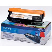 Brother TN-320C Cyan Toner Cartridge