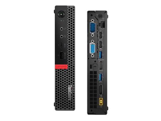 Lenovo ThinkCentre M920 Tiny PC Core i5 (8500T) 2.1GHz 8GB (1x8G) 256GB SSD WLAN BT Windows 10 Pro 64-bit (Integrated Intel UHD Graphics 630)