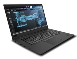 Lenovo ThinkPad P1 (15.6 inch) Notebook Core i7 (8750H) 2.2GHz 16GB (2x8GB) 512GB SSD WLAN BT Webcam Windows 10 Pro 64-bit (NVIDIA Quadro P1000 Graphics) Black