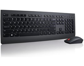 Lenovo Professional Wireless Keyboard and Mouse Combo (Black) - UK English