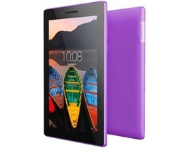 Lenovo Tab 3 Essential (7 inch Multi-touch) Tablet PC MediaTek (MT8127) 1.3GHz 1GB 8GB Flash WLAN BT Webcam Android 5.0 (Integrated ARM Mali Graphics) Purple