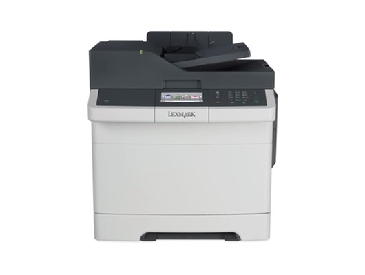 Lexmark CX417de (A4) Colour Laser Printer (Duplex/Copy/Scan/Fax) 512MB 4.3 inch Colour Touchscreen 30ppm (Mono/Colour) 75,000 (MDC)