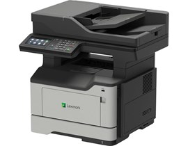 Lexmark MX521ade Mono Multifunction Laser Printer (Copy/Fax/Scan) 1024MB Colour Touchscreen 44ppm 120,000 (MDC)