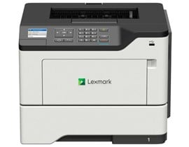Lexmark MS621dn (A4) Mono Laser Printer (Duplex/Network) 512MB (2.4 inch) LCD Display 47ppm 175,000 (MDC)