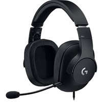 Logitech G PRO Wired Gaming Headset (Black) with Microphone