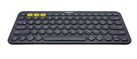 Logitech K380 Multi-Device Bluetooth Keyboard (Dark Grey) - UK English