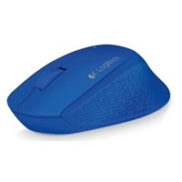 Logitech M280 Wireless Mouse (Blue)