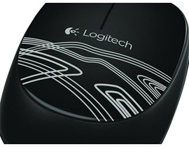 Logitech M105 Corded Optical Mouse (Black)