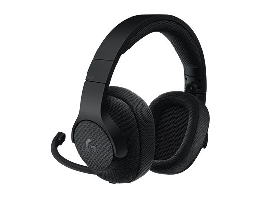 Logitech G433 7.1 Surround Sound Wired Gaming Headset (Black)