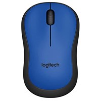 Logitech M220 SILENT Wireless Mouse (Blue)