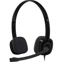 Logitech H151 Stereo Headset with Noise-Cancelling Microphone