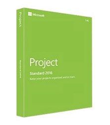 Microsoft Project 2016 English Medialess