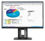 HP Z24n (24 inch) Narrow Bezel IPS Display 1000:1 300cd/m2 1920x1200 8ms DisplayPort/MHL/HDMI