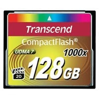 Transcend 1000x (128GB) CompactFlash Memory Card