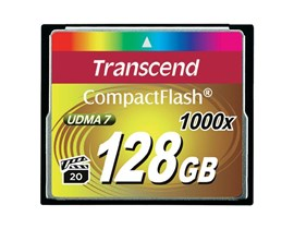 Transcend 1000x 128GB CF Card