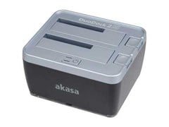 Akasa DuoDock 2S USB 3.0 Hard Drive Docking Station