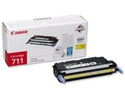 Canon 711 (Yellow) Toner Cartridge (Yield 6,000 Pages)