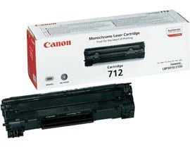 Canon 712 Black (Yield 1,500 Pages) Toner Cartridge