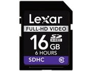 Lexar 16GB Secure Digital High Capacity (SHDC)