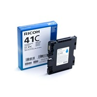 Ricoh GC41C (Yield: 2,200 Pages) Cyan Gel Ink Cartridge