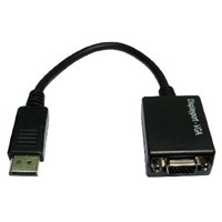 Display Port to VGA Cable