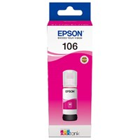 Epson 106 EcoTank Ink Bottle (70ml)  for EcoTank ET-7750/EcoTank ET-7700 Printers (Magenta)