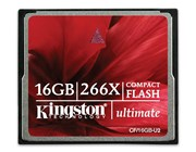 Kingston CompactFlash Ultimate (16GB) Memory Card 266X *Open Box*