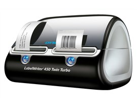 Dymo LabelWriter 450 Twin Turbo Label Printer USB with Software