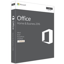Microsoft Office Home and Business 2016 English Medialess for Mac